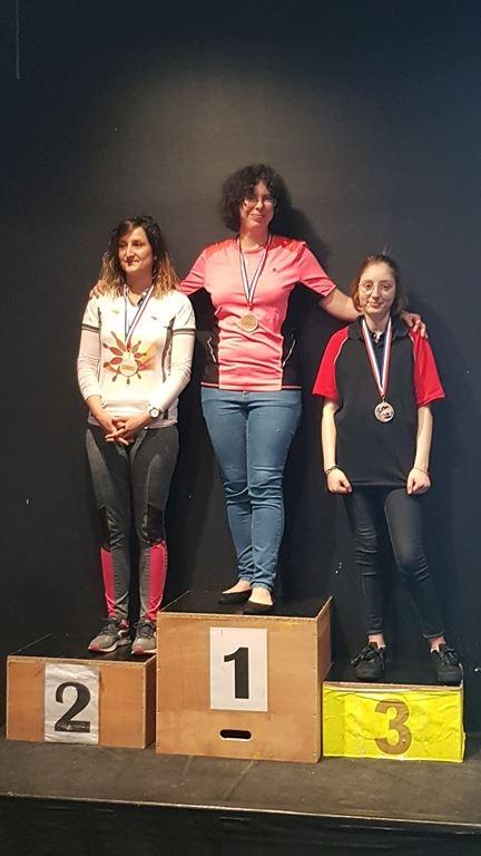 Championnat individuel Dames  promotion Mai 2019